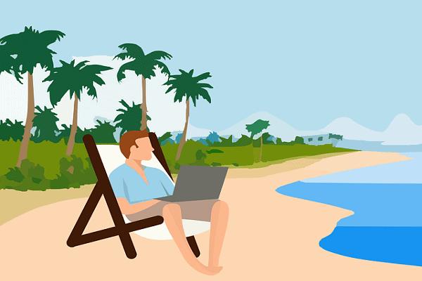 Dé tip om het zand uit je laptop te houden deze zomer